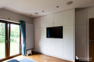 Multiroom Casa Tunes, głośniki Monitor Audio, sypialnia