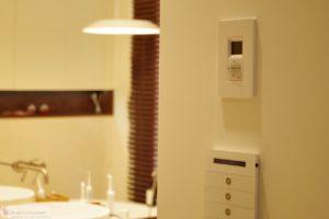 Multiroom Casa Tunes, klawiatura Casa Tunes, łazienka
