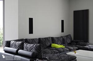 Instalacja kina domowego salon