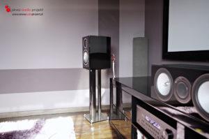 Instalacja kina domowego Cambridge Audio / Monitor Audio / Kauber