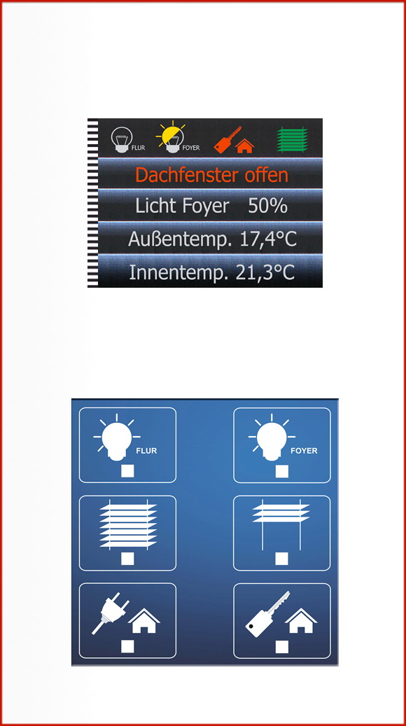 Klawiatura inteligentnego domu LCN-GT10D