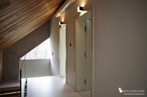 Inteligentny dom LCN, sterowanie oświetleniem , piętro