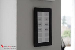 Inteligentny dom klawiatura LCN