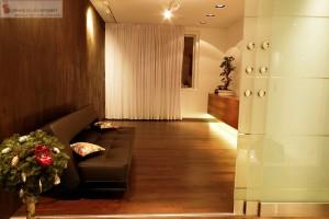 Instalacja Kina Domowego II strefa audio, głośniki w zabudowie sufitu